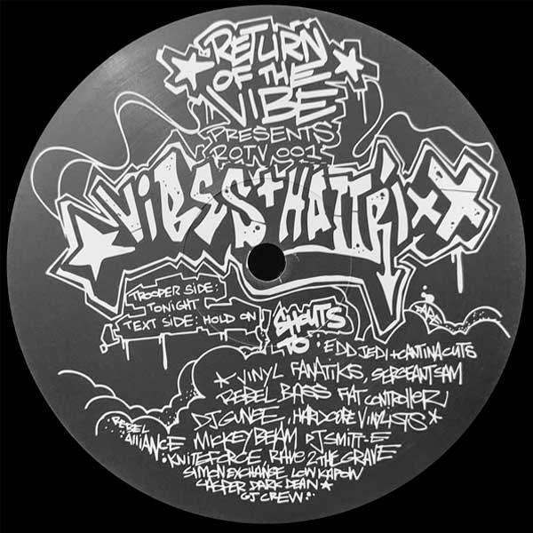 DJ Vibes & Hattrixx – Tonight / Hold On