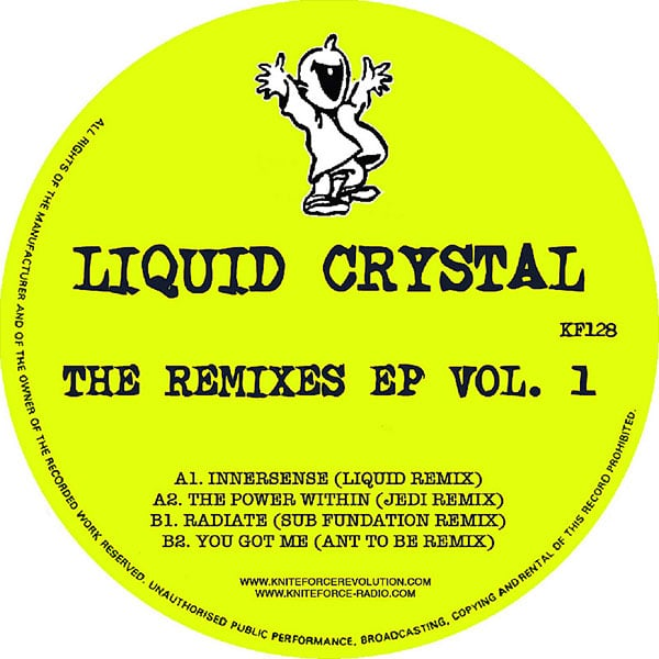 Liquid Crystal ‎– The Remixes EP Vol. 1