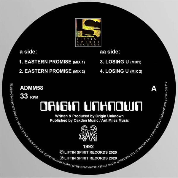 Origin Unknown – Eastern Promise E.P