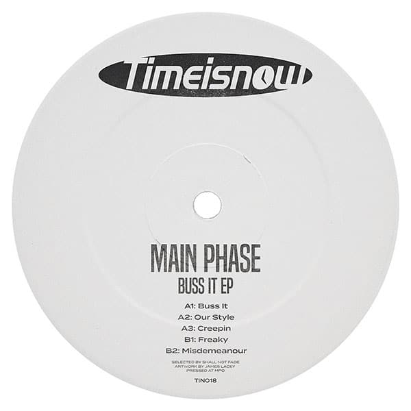 Main Phase - Buss It EP