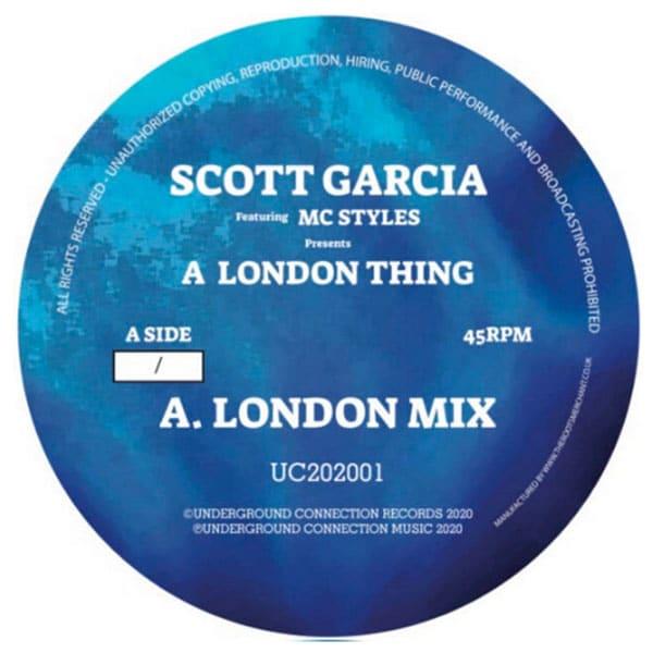 Scott Garcia - A London Thing