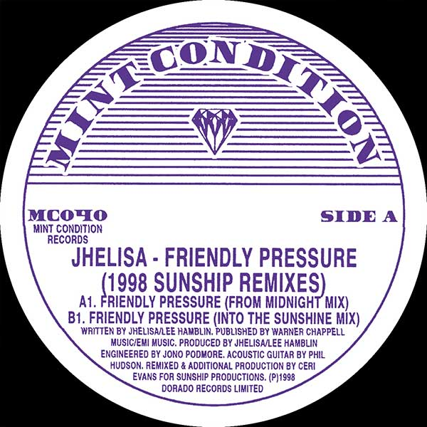 Jhelisa - Friendly Pressure (1998 Sunship Remixes)