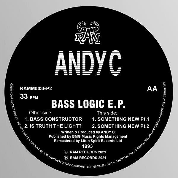 Andy C - Bass Logic E.P