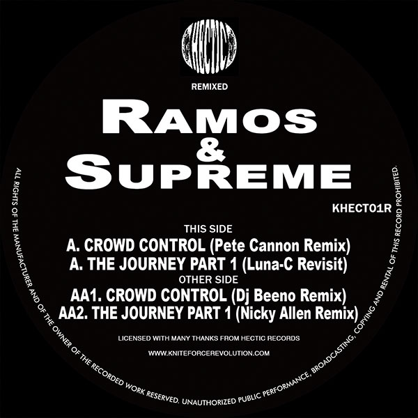Ramos & Supreme - The Journey / Crowd Control Remixed EP