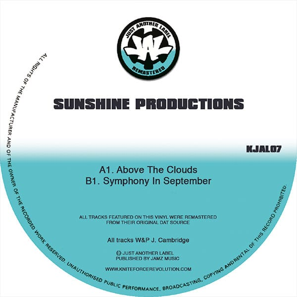 Sunshine Production - Above The Clouds EP