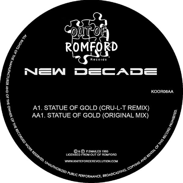 New Decade - Statue Of Gold EP