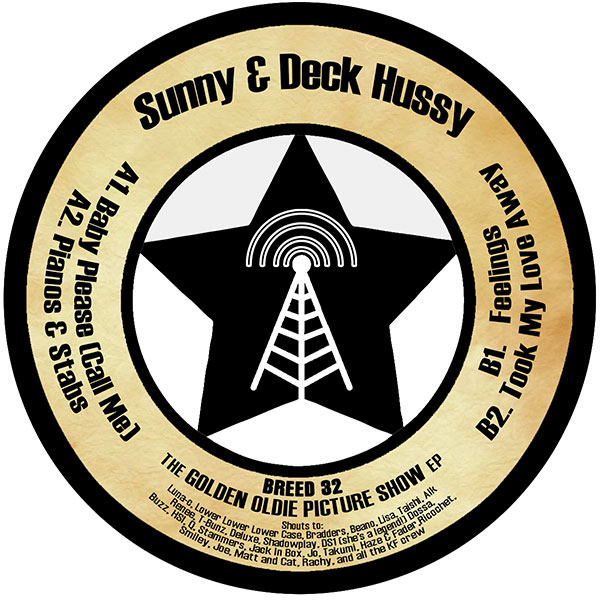 Sunny & Deck Hussy – The Golden Oldie Picture Show EP