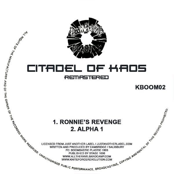 Citadel Of Kaos - Ronnies Revenge EP