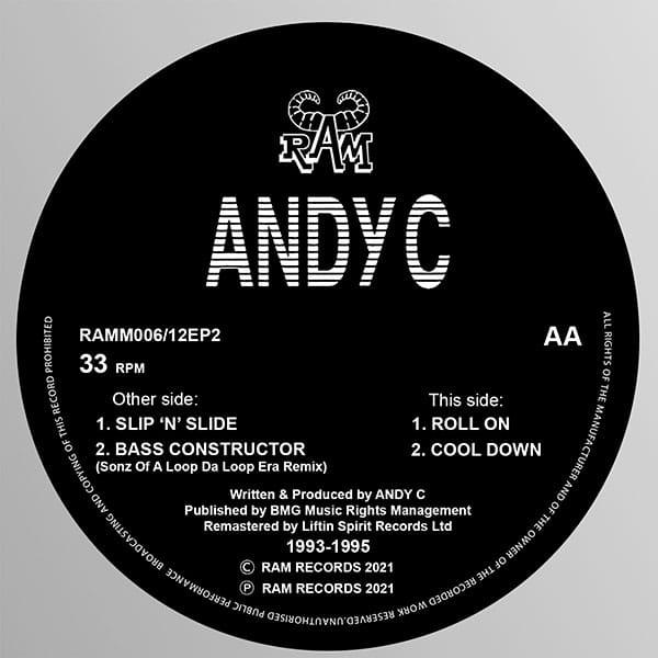 Andy C - Slip N Slide