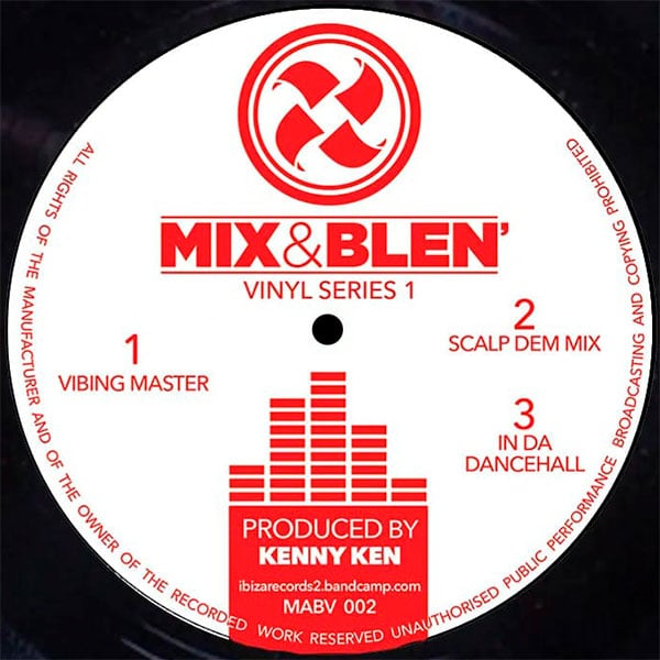 Kenny Ken - Mix And Blen