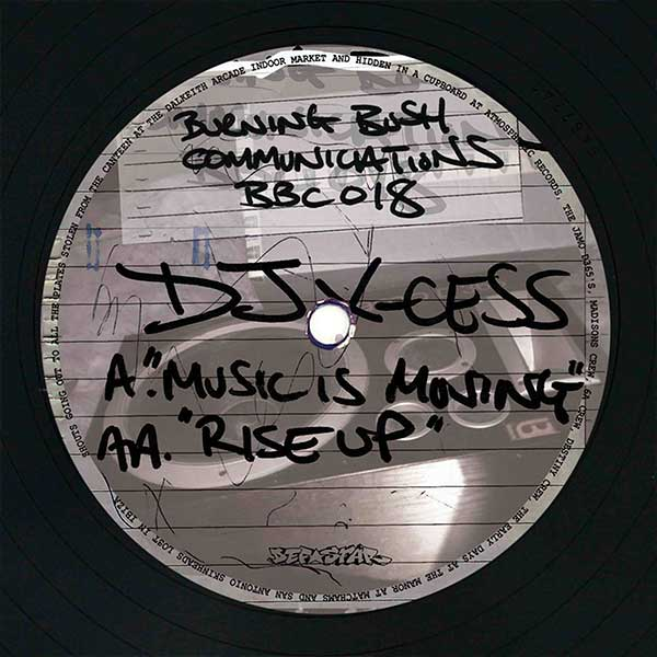 DJ X-Cess - Music Is Moving