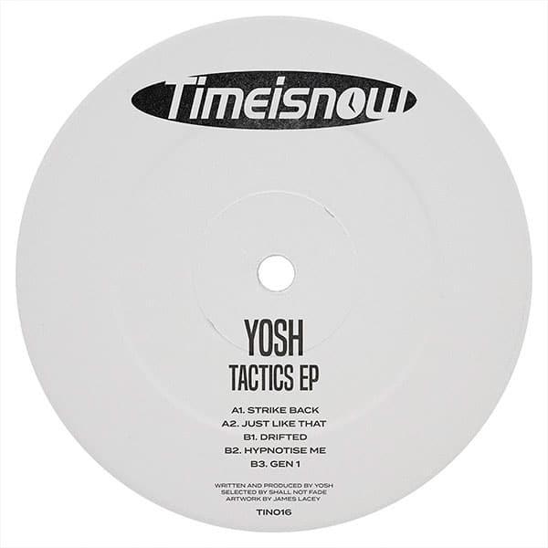 Yosh - Tactics EP